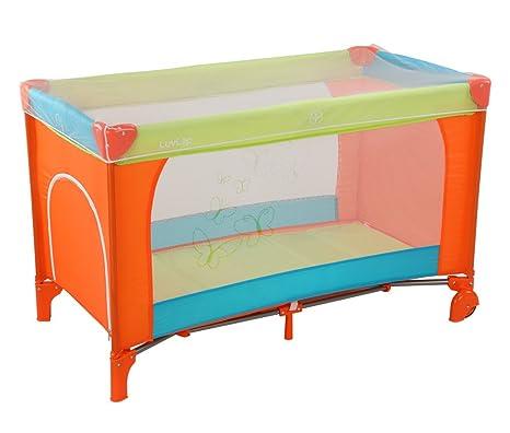 Entzuckend Luvlap Sunshine Baby Playpen (Orange/Green/Blue)