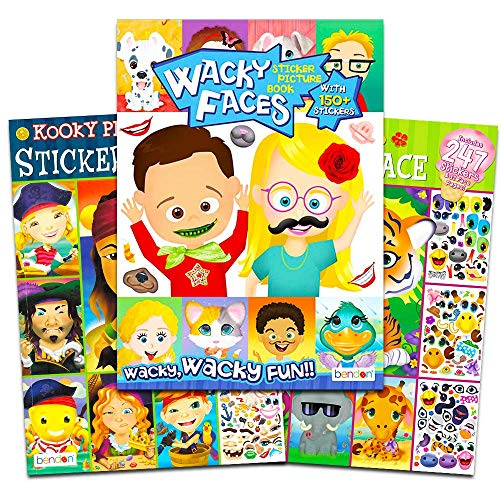 Make a Face Sticker Books for Kids Toddlers -- Set for sale  Delivered anywhere in USA
