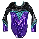 Demi Gymnastics Competition Leotard with Rhinestone TL039