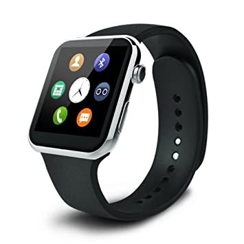 A9 reloj inteligente, life-mall A9 reloj inteligente Bluetooth deporte Fitness Smart muñeca reloj