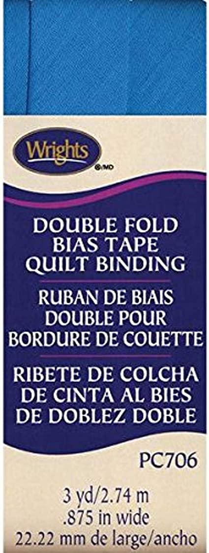 x 7//8 Light Pink for Quilts Blankets and Heavy Fabrics Double Fold Quilt Binding Bias Tape 3 Yds