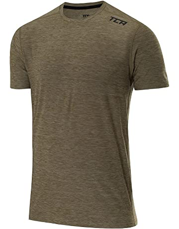 Ron Hill Infinity T Shirt Mens Gents Short Manche Performance Thé Top Round Neck