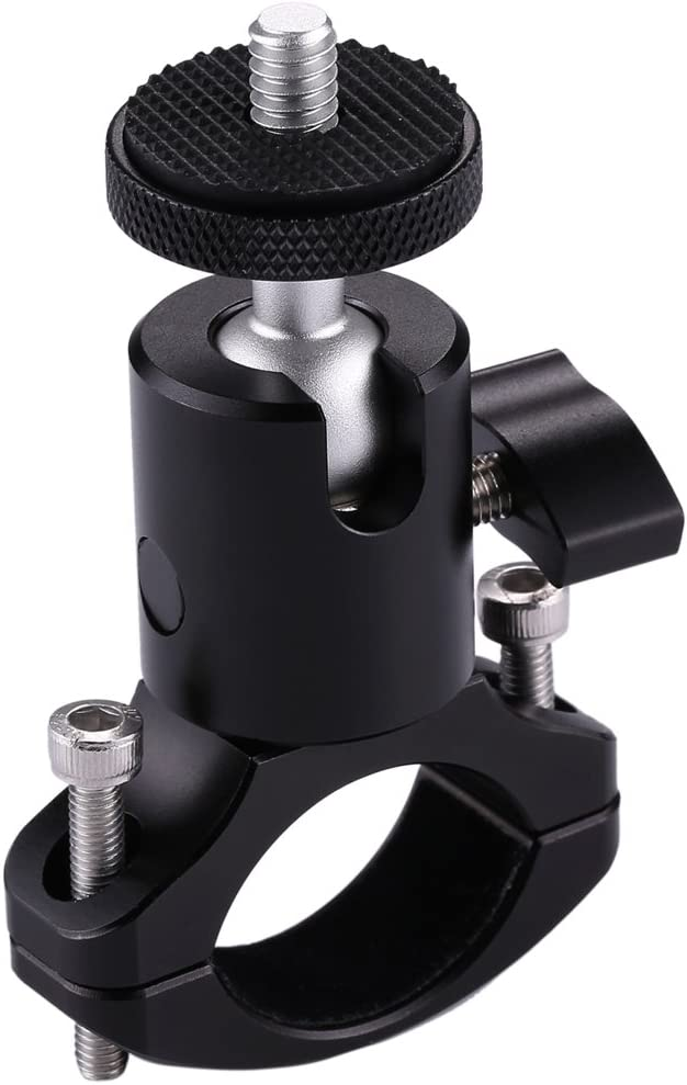 Xiaoyi and Other Action Cameras Durable DJI OSMO Action Color : Color2 Bike Aluminum Handlebar Tripod Ball Head Adapter Mount for GoPro HERO8 Black//Max // HERO7