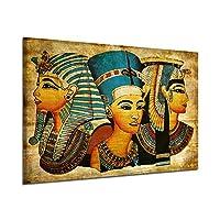 Bolange Antichi murales egizi immagine completa Un dipinto ad olio dipinto, 40 * 60cm Faraone egiziano pittura murale immagine intera decorazione della casa