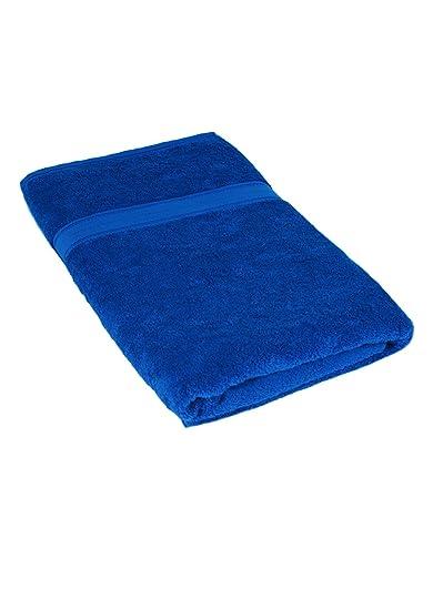 Línea de Naturelle - - Oferta de baño sábana de Toalla de Sauna, tamaño 100 x 200 cm Azul Cobalto XX-Large: Amazon.es: Ropa y accesorios