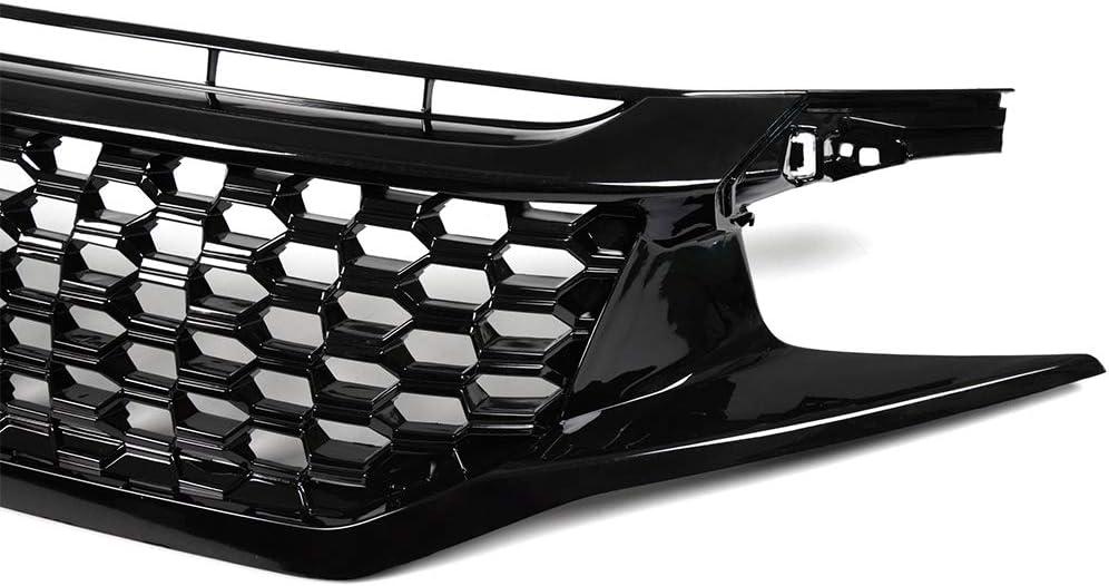 BLACK ABS PLASTIC HONDA CIVIC  3D LICENSE FRAME CLEAR ;LENS