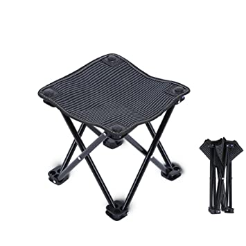 Mini C&ing Stools Outdoor Portable Folding Picnic Chairs C&ing Square Stool for Fishing Hiking 10.6  sc 1 st  Amazon.com & Amazon.com : Mini Camping Stools Outdoor Portable Folding Picnic ... islam-shia.org