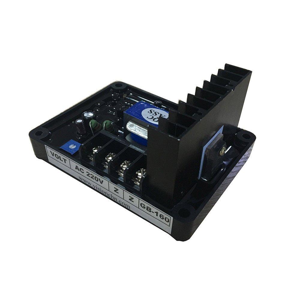 Zz Pro Single Phase Brush Generator Automatic Voltage Regulator AVR GB-160 220VAC ZzPro