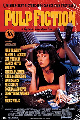 Pulp Fiction - Movie Poster / Print (Regular Style) (Size: 24