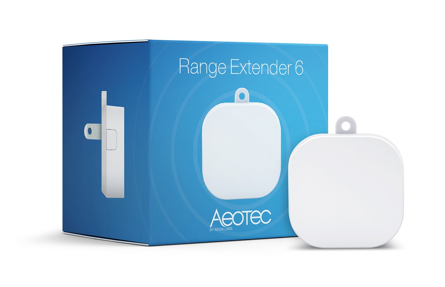 Aeotec Range Extender 6, Z-Wave Plus repeater by Aeon Labs