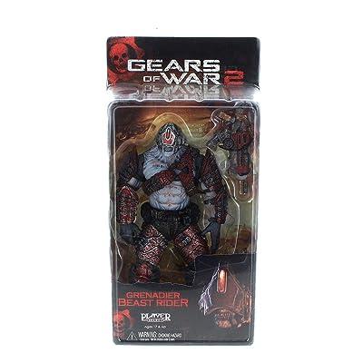 Gear of War 2: Series 5 Locust Grenadier Beast Rider Action Figure: Toys & Games