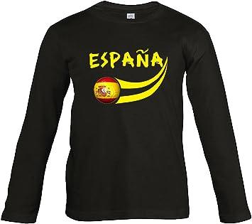 Supportershop – Camiseta de fútbol – España – para niño: Amazon.es: Deportes y aire libre