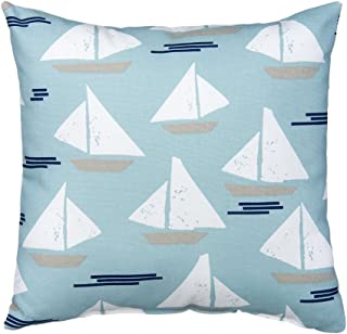 product image for Glenna Jean Little Sail Boat Pillow, Sailboat