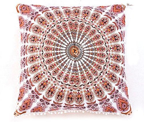 Mandala almohada Euro Sham, Euro Sham manta decorativa ...