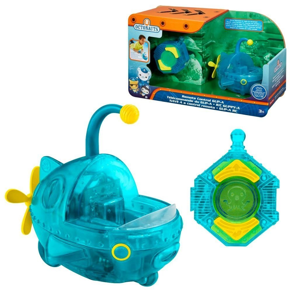 The Octonauts - Remote Control Gup-A Shark Lifeboat Fisher Price