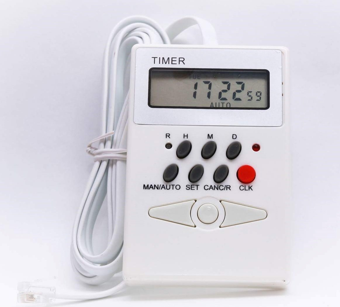 Timer For Remote Control Electric Curtain Tracks (Electric Curtains)