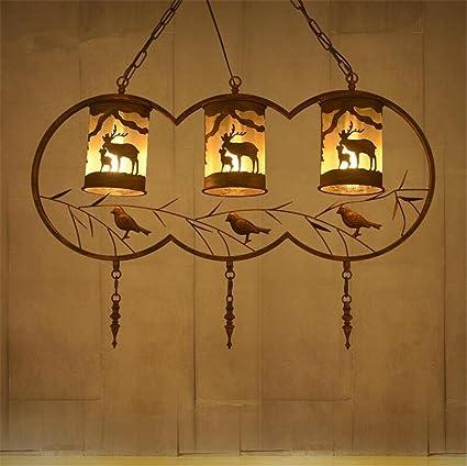 Atmko®Iluminación colgante Lámparas de techo colgantes ...