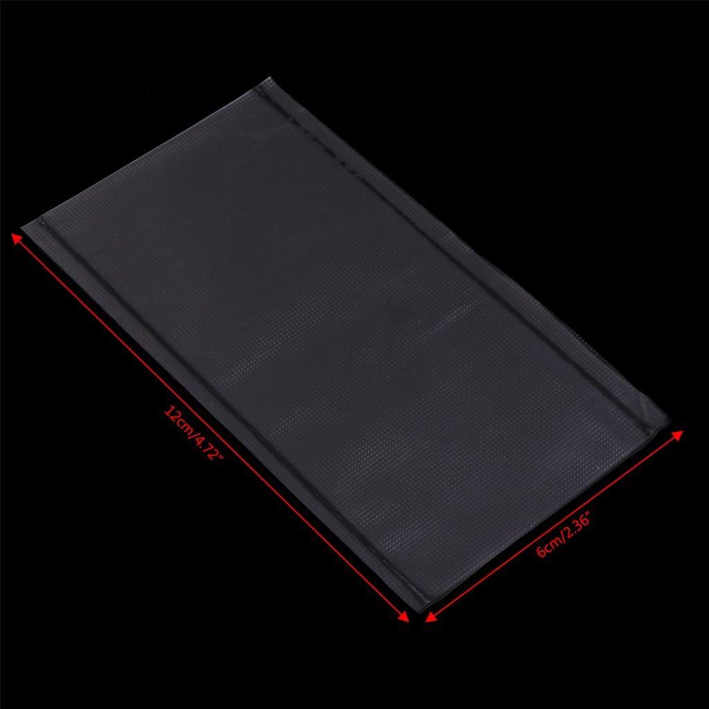 CADANIA 50 Pi/èces Carpe De P/êche Soluble dans leau PVA Sac Terminal Tackle Outil Accessoires 6x12 cm
