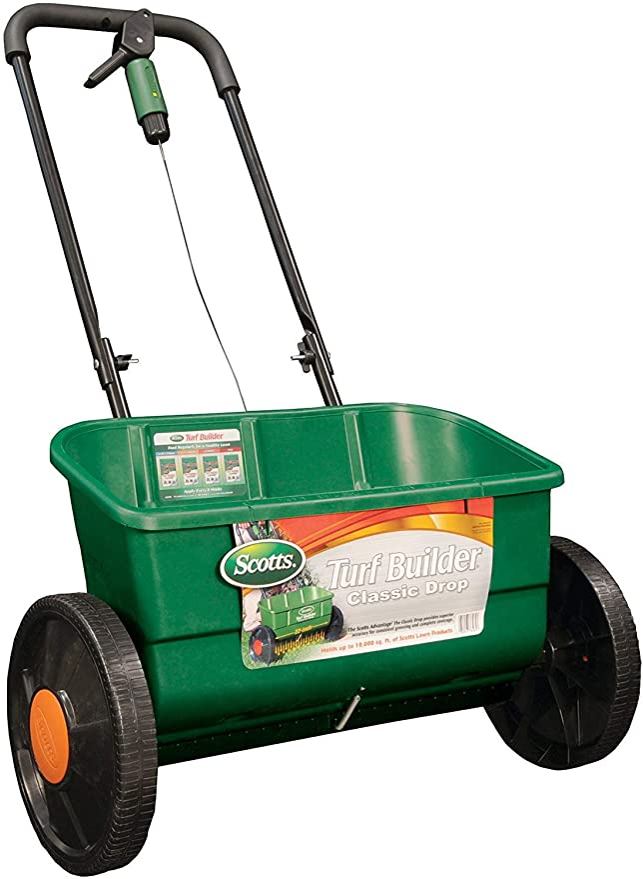 Scotts Turf Builder EdgeGuard 76565 - Best Lawn Spreader Overall