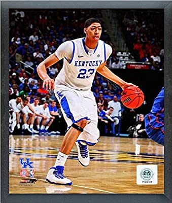"Anthony Davis University of Kentucky Wildcats 2011 Action Photo (Size: 17"" x 21"") Framed"