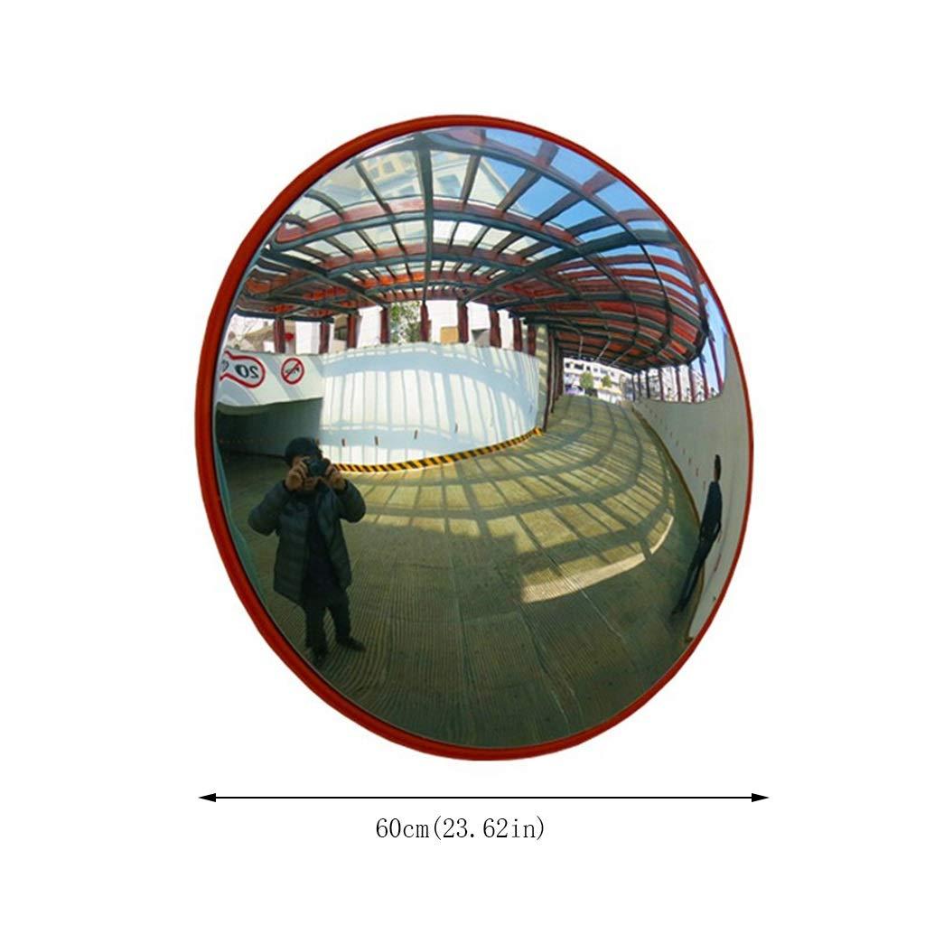 Kuppel 180-Grad-Betrachtungswinkel Diebstahlsicherung f/ür Den Stra/ßenverkehr Im Freien Und Die Sicherheit des Einkaufszentrums gr/ö/ße : A60cm NJYT Sicherheitsspiegel Konvexer Spiegel