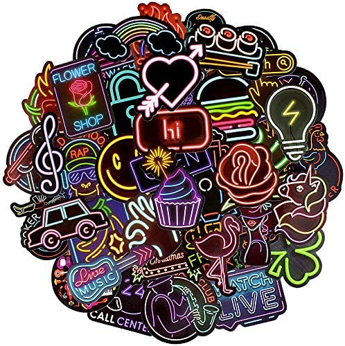Waterproof Stickers Laptops Decals Supplies product image
