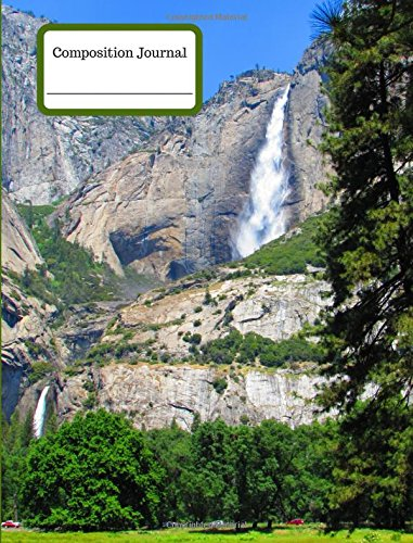 Compostion Journal Yosemite Falls 100 Graph Pages