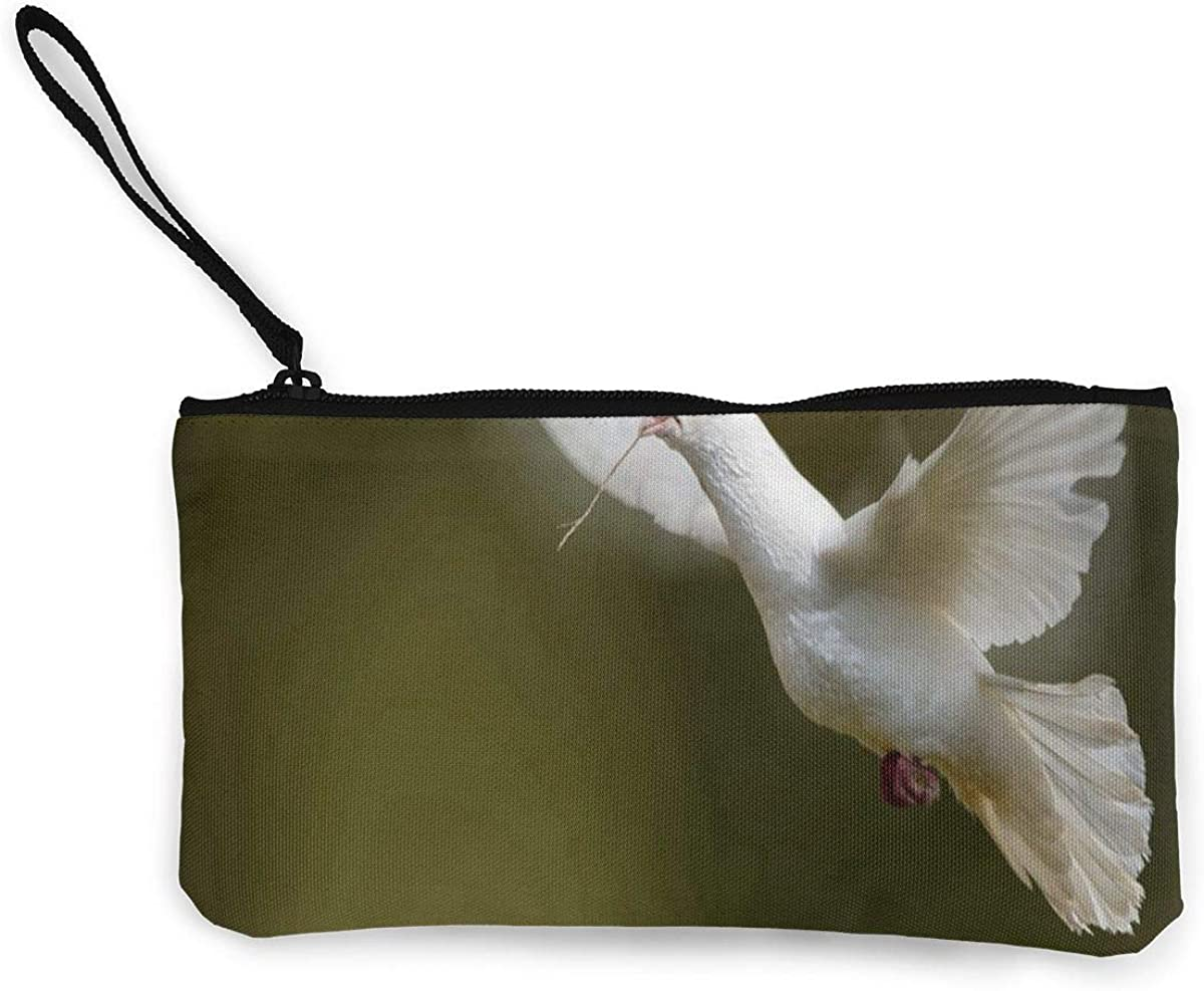 Coin Purse White Dove...