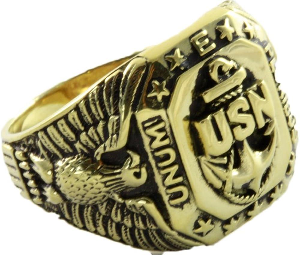US-Navy United States US Marine Corps Siegelring Military Herrenring