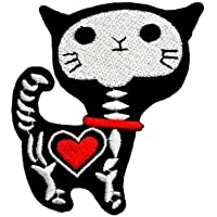 naisecore bordado Cute Cat Ropa Patch Exquisite schnitten