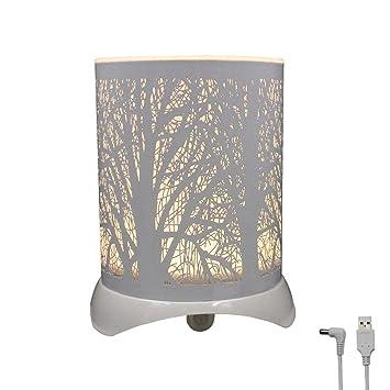Glovion árbol con Dibujos Lámpara de Noche LED Sensor PIR Lámpara de Mesa para el hogar Decoración - Forest