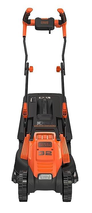 Black+Decker BEMW451BH-QS - Cortacésped (ancho de corte de 32 cm, manillar tipo bicicleta, 1200 W): Amazon.es: Bricolaje y herramientas