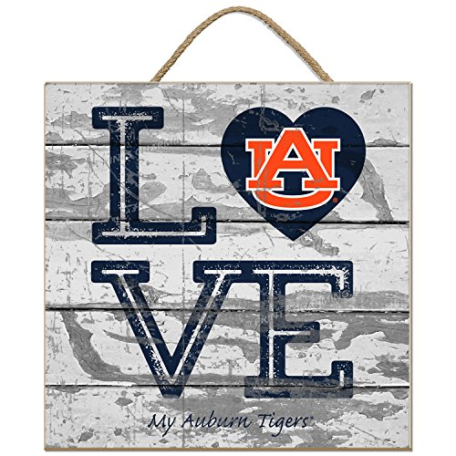 Auburn Tigers Square - Prints Charming Auburn Tigers Love My Team - Square