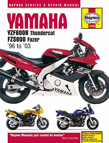 amazon com 96 03 yamaha yzf600r haynes repair manual misc rh amazon com 2006 YZF 600 FZR 600