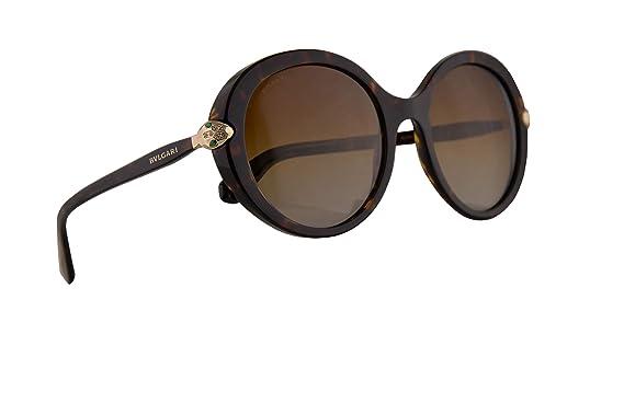 Amazon.com: Bvlgari BV8204-B - Gafas de sol, color marrón ...
