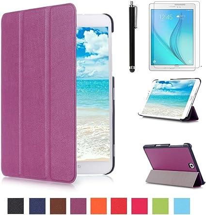 Samsung Tab S2 8'' Housse ,Etui à rabat Housse de Protection Coque en Cuir pour Samsung Galaxy Tab S2 8.0 Pouce T710 Étui Smart Cover Case avec ...