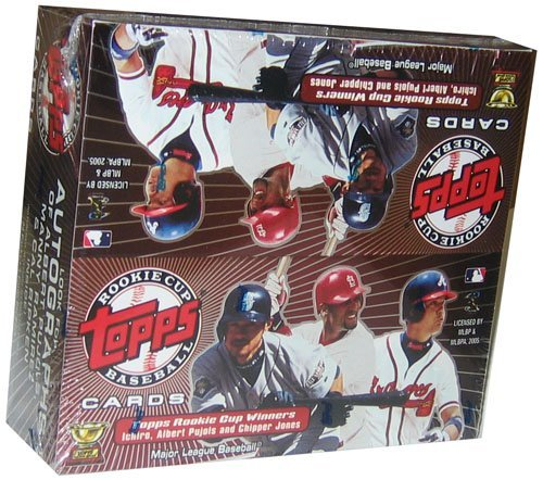 2005 Topps Rookie Cup Baseball Cards Unopened Box 24 packs/box randomly inserted autographs