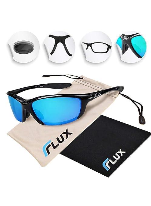cb2c0420a8 Flux Sunglasses for Men and Women  Polarized UV Protection Sports Sunglasses  for Baseball