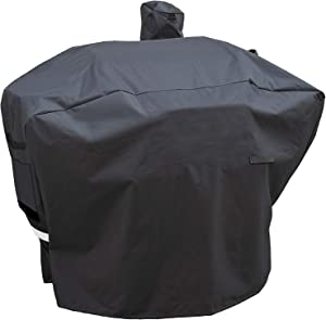 """Utheer Pellet Grill Cover for Camp Chef, Full-Length Patio Cover DLX 24"""", SmokePro 24"""", PG24, PG24LS, PG24S, PG24SE, PG24LTD, SmokePro DLX, Woodwind Pellet Grills Cover 600D Anti-UV Waterproof"""