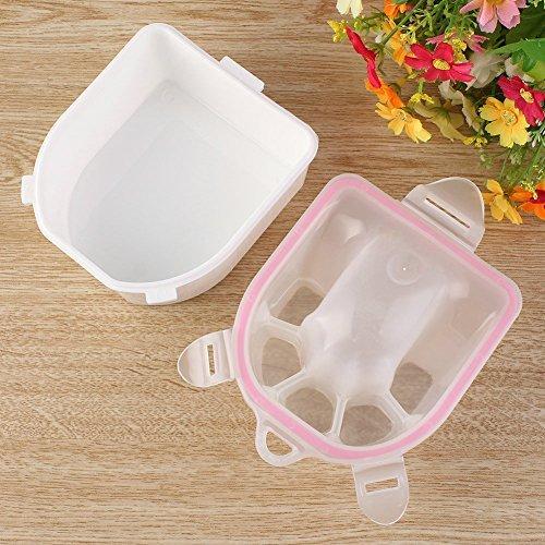 Bowl Bowls Tip (CIAMLIR Nail Art Salon Manicure Hand Spa Remove Wash Bowl Tips Soaker Tools by Ciamlir)
