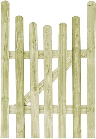 ghuanton Puerta de Valla de Madera de Pino impregnada FSC 100x150 cmBricolaje Vallas de jardín Puertas de jardín: Amazon.es: Hogar