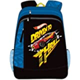 Hot Wheels Black School Backpack (MBE-MAT413)