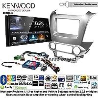 Volunteer Audio Kenwood DDX9904S Double Din Radio Install Kit with Apple CarPlay Android Auto Bluetooth Fits 2015 Chevrolet Tahoe, Suburban