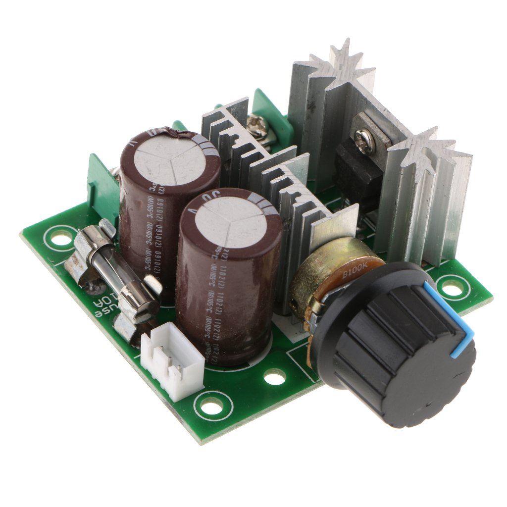 D DOLITY DC Motor Speed Control 12V-40V 10A 400W 13KHZ PWM Controller Speed Regulator Module