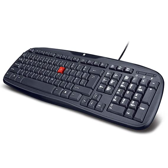 iBall Win Top V3.0 Keyboard & Mouse Combo (Black) Keyboard & Mouse Sets at amazon