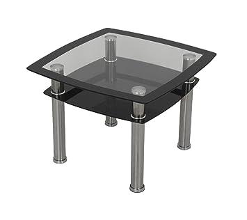 Tisch 60x60 Schwarz.King Modern Schwarz Glas Lampe Tisch Schwarz Dimensions L