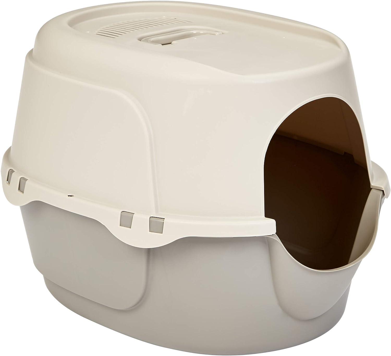 AmazonBasics No-Mess Hooded Cat Litter Box (Various Sizes)