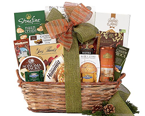 Wine Country The Connoisseur Gift Basket (Wine Birthday Gift Baskets)