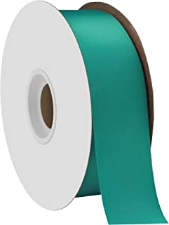 "product image for Offray Berwick 1.5"" Single Face Satin Ribbon, Tornado Blue, 50 Yds"