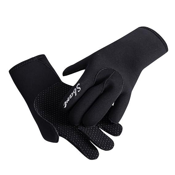 d8c9bc8492 Amazon.com   Neoprene Diving Gloves Wetsuit Scuba Gloves 3MM for Men ...